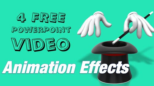 free powerpoint effects template and tutorial
