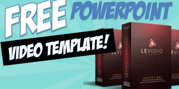free levidio v5 powerpoint video template